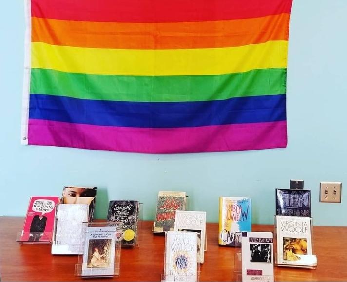 Pride display