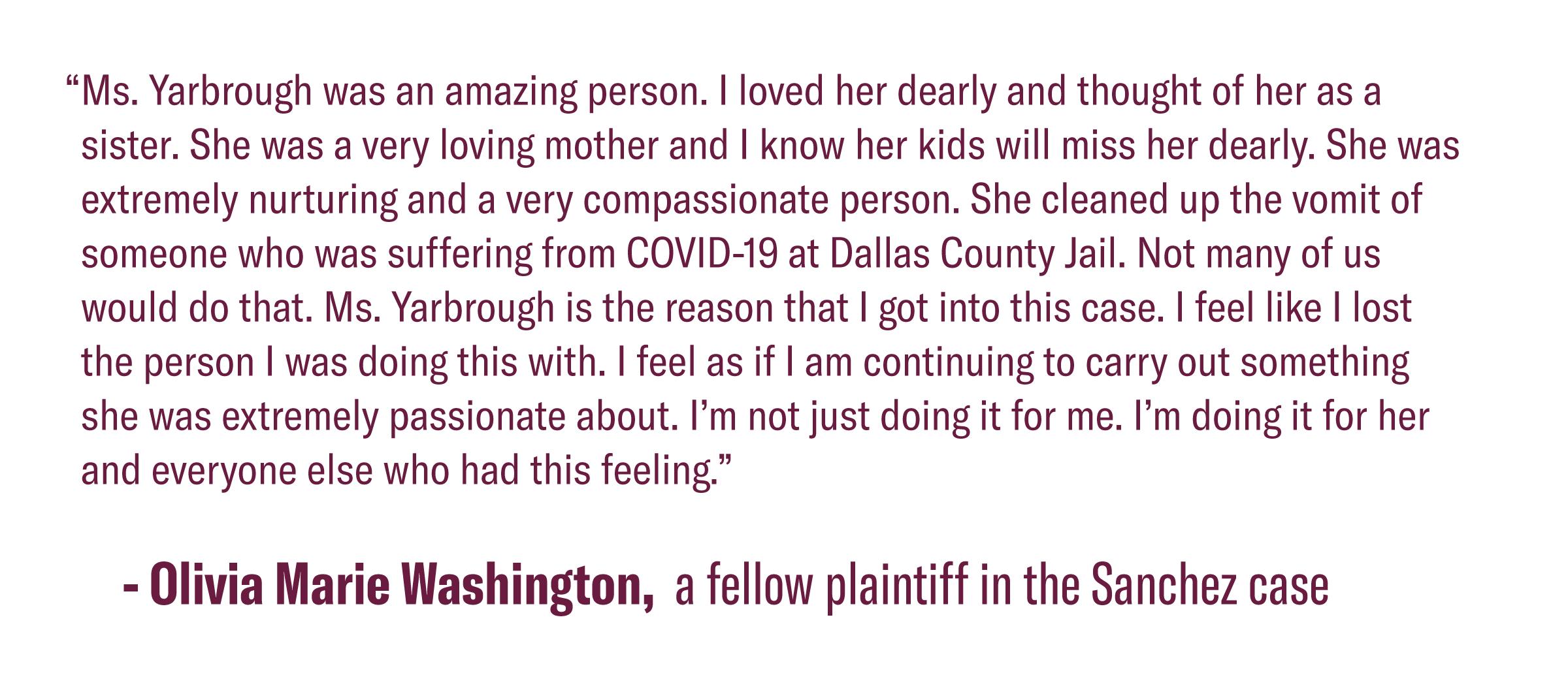 Quote from Olivia Washington Kiara's friend