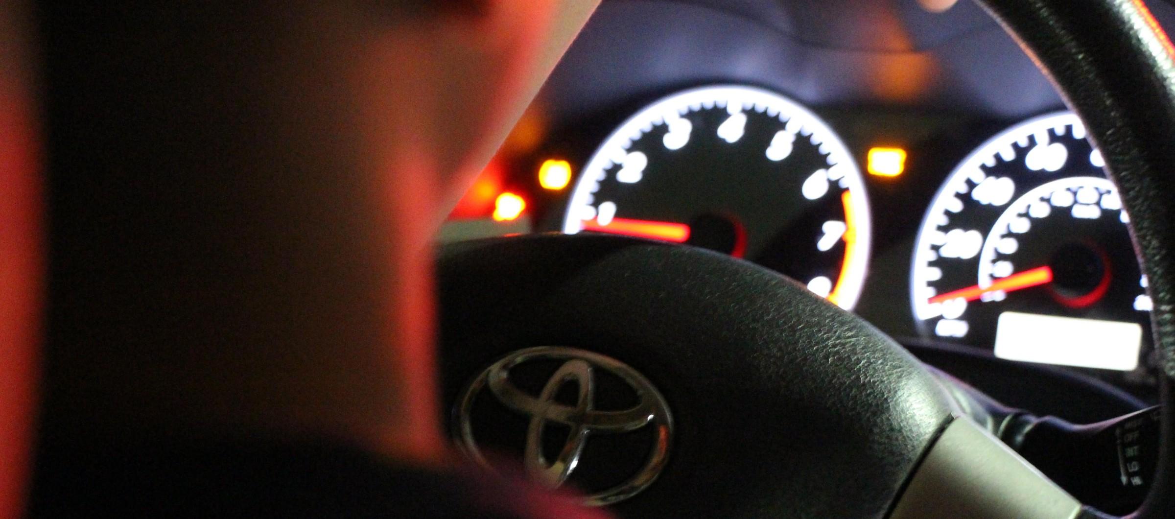 Car line speedometer