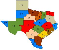 Map of TEA ESC regions, from TEA