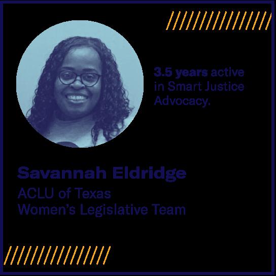 savannah eldridge smart justice blog portrait