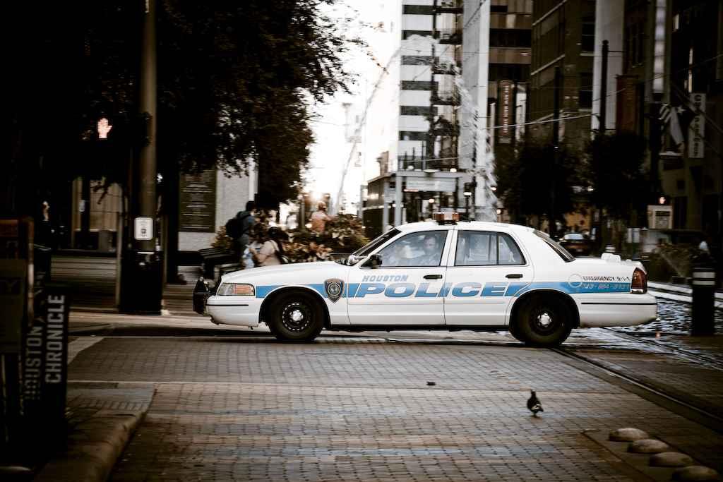 Houston police car