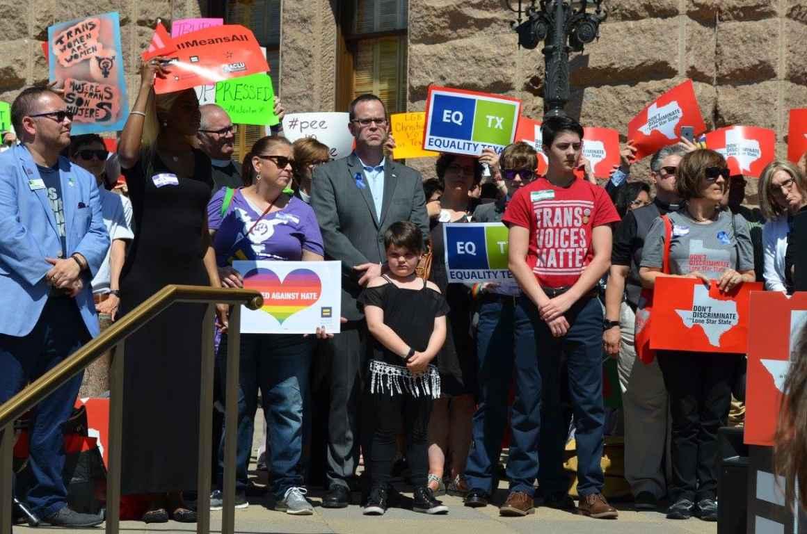 Rally against anti-trans SB6