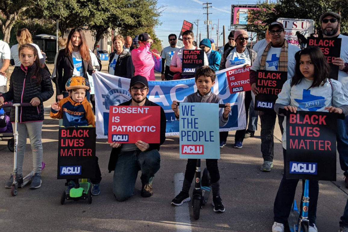 ACLU of Texas staff and volunteers