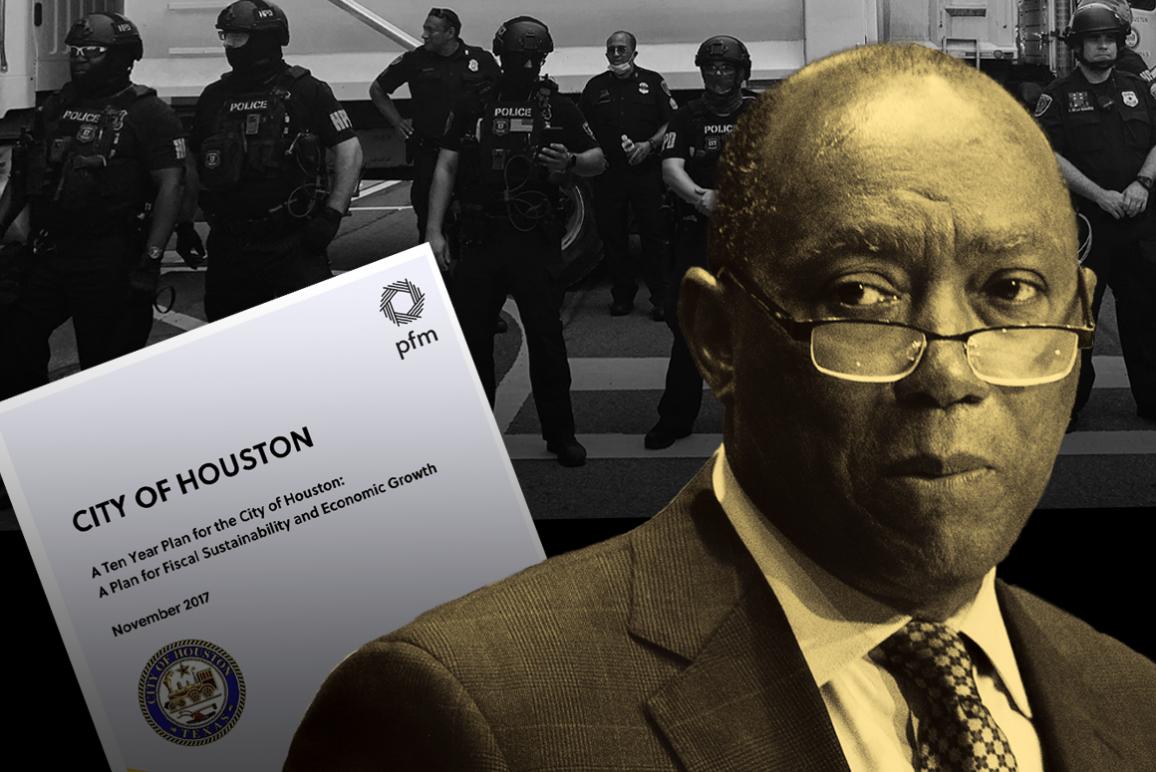 Houston Mayor Turner HPD Police