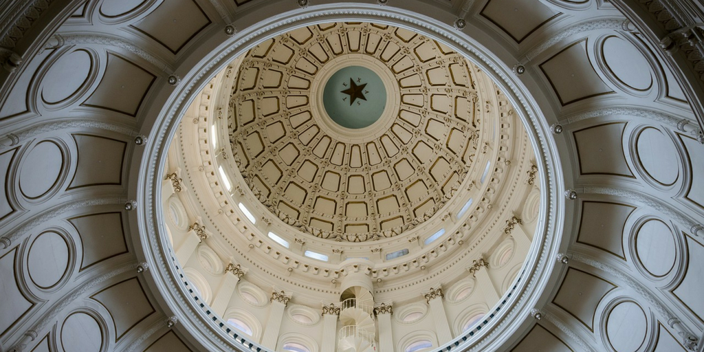 Inside of the Texas Capitol