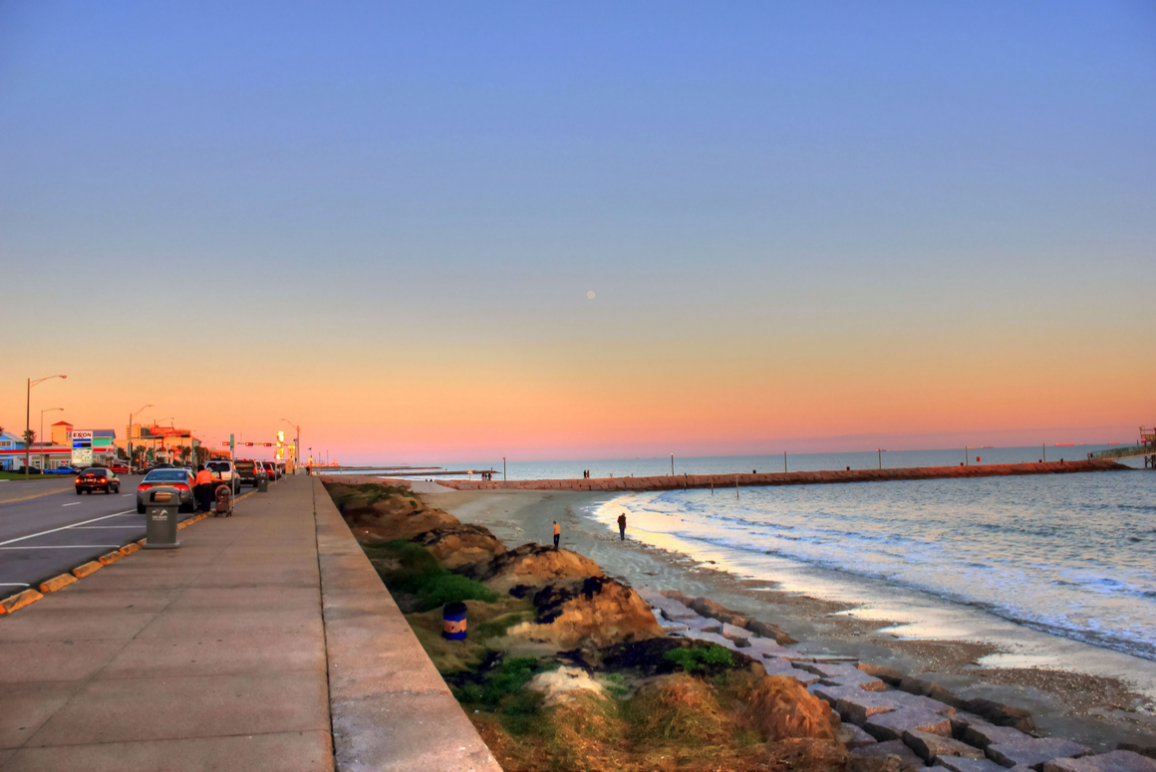 Coast of Galveston, Texas