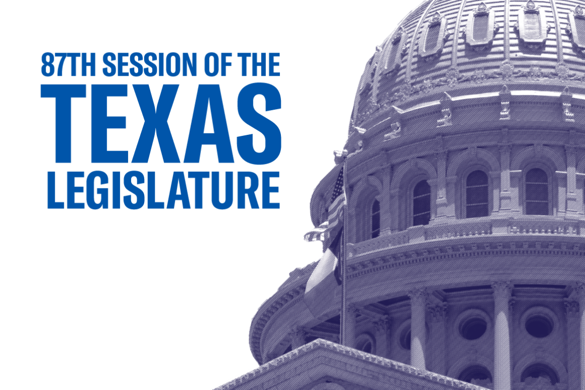 2021 Legislative Session Austin Capitol Image