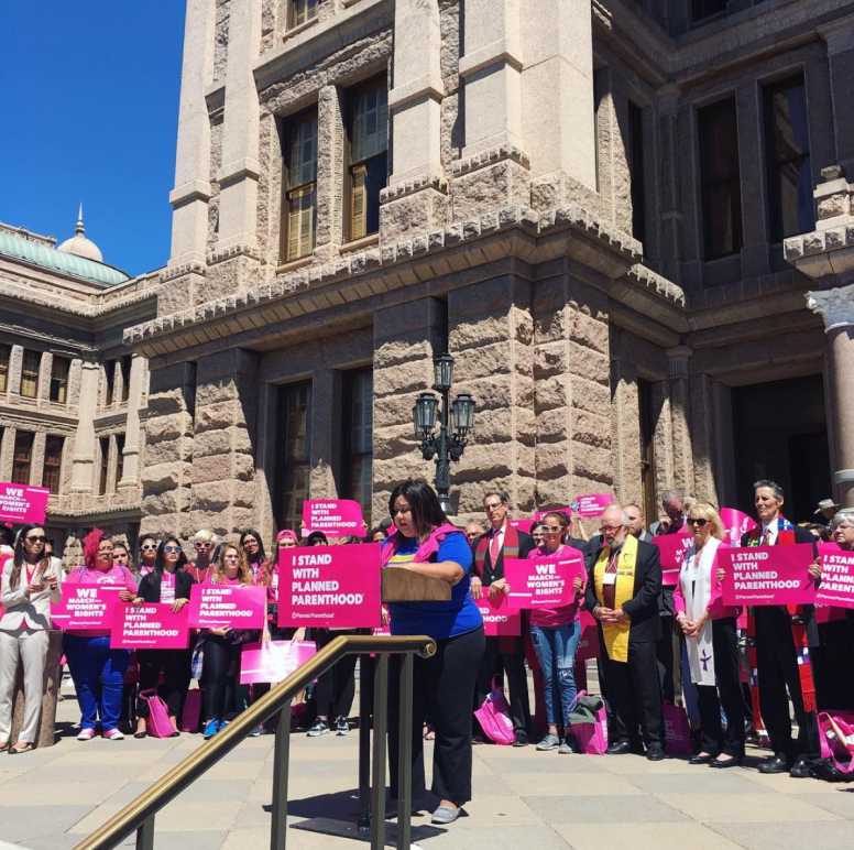 Planned Parenthood rally at the Capitol