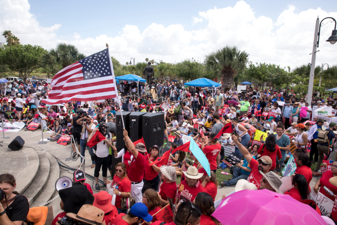 Rally Image from Brownsville