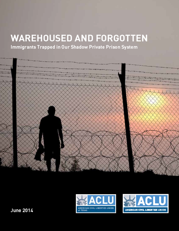 Warehoused and Forgotten report cover