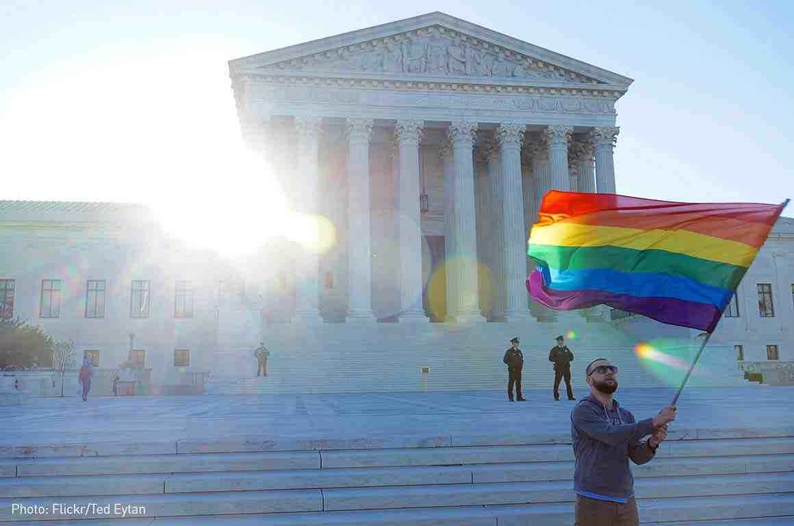 LGBTQ flag supreme court