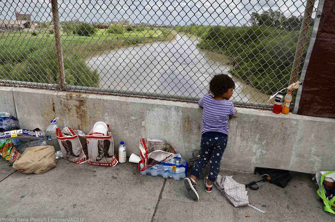 minor at border bridge