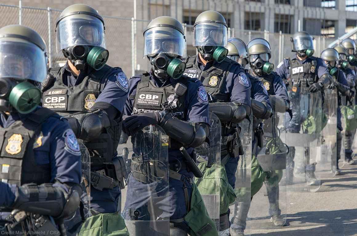 CBP Riot Gear