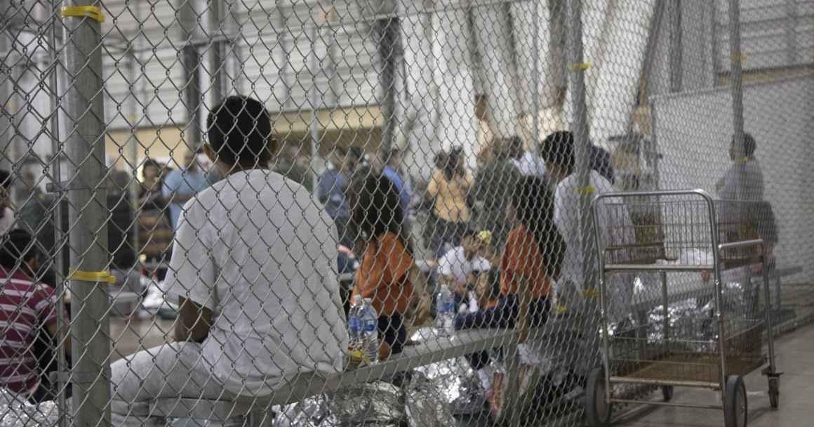 Migrants in detention