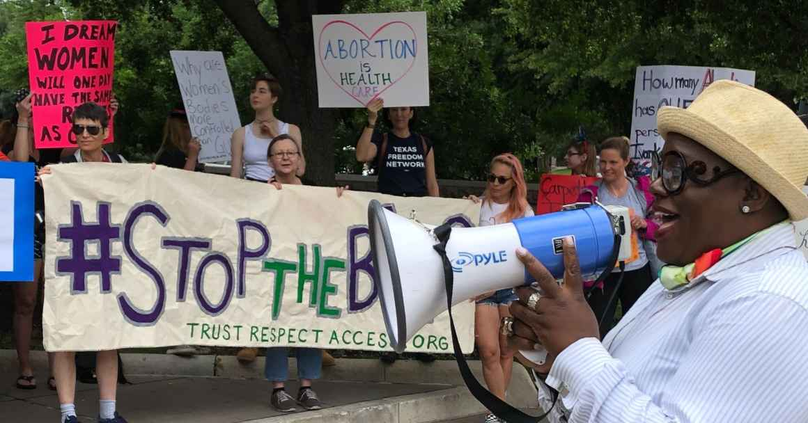 Stop the bans abortion rally Austin