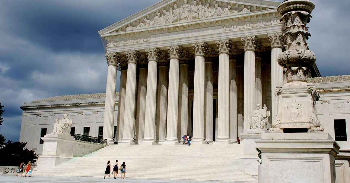 Image of the supreme court building in Washington, DC