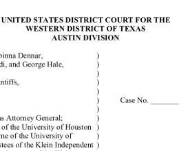 ACLU of Texas Files First Amendment Challenge to Anti-Boycott Law